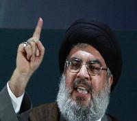 H.Nasrallah, leader du Hezbollah.
