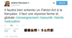 Pécresse patriot act